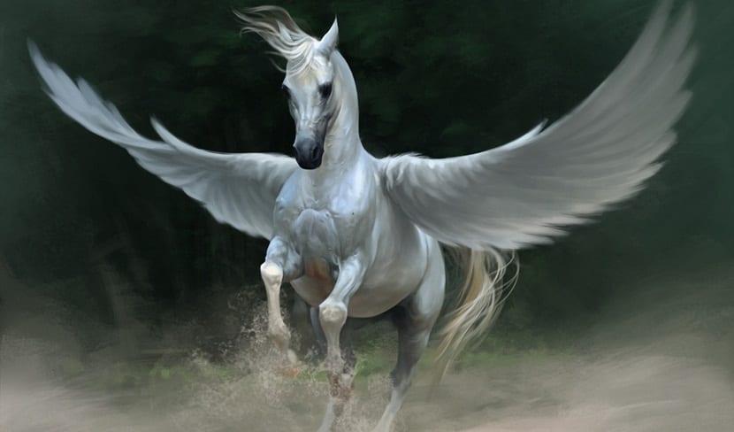 caballo blanco pegaso