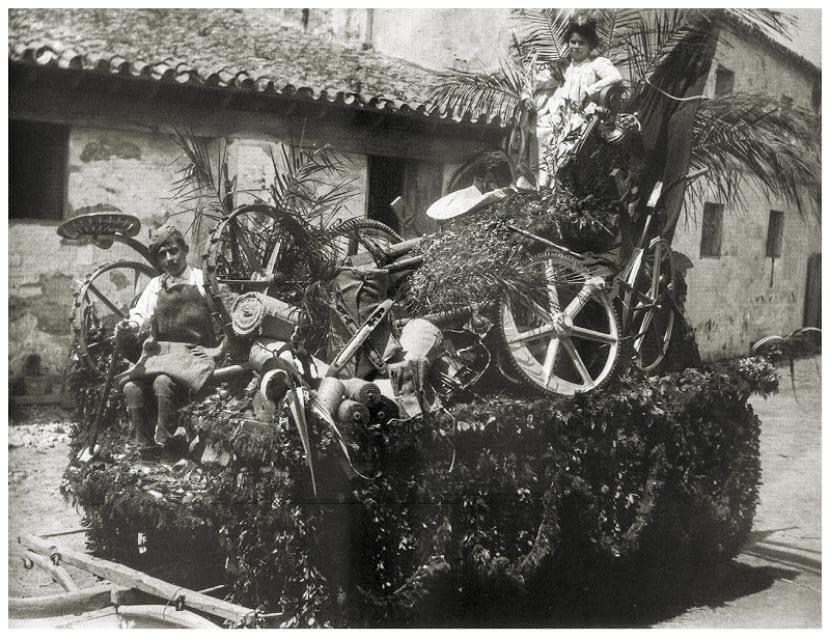 Imagen de la Batalla de las Flores