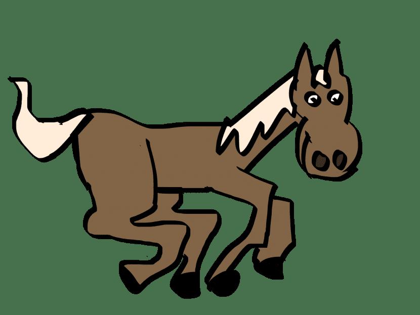 Dibujo fácil de un caballo