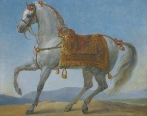 Pintura del caballo de Napoleón, Marengo