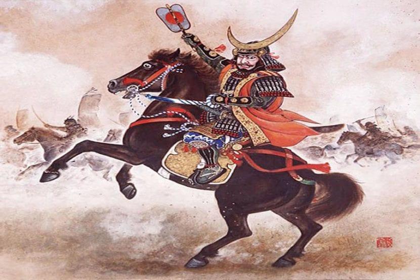 Ilustración donde se ve a Atila y a su caballo