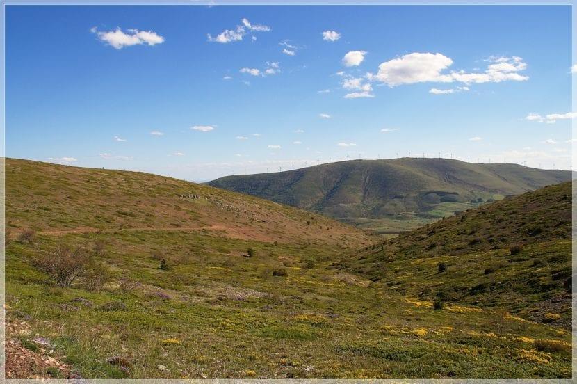 Vista del Parque de Moncayo