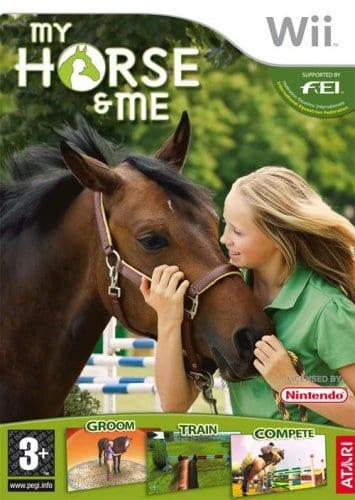 Portada del videojuego My horse and me