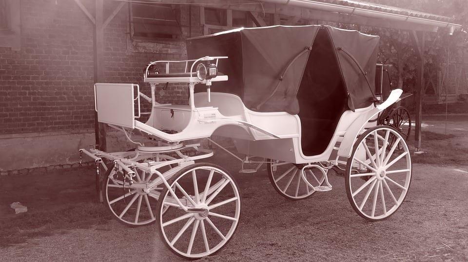 Landó coche caballos