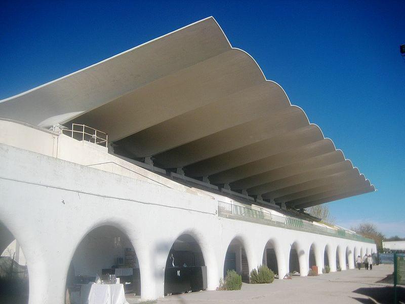 Tribunas hipódromo La Zarzuela