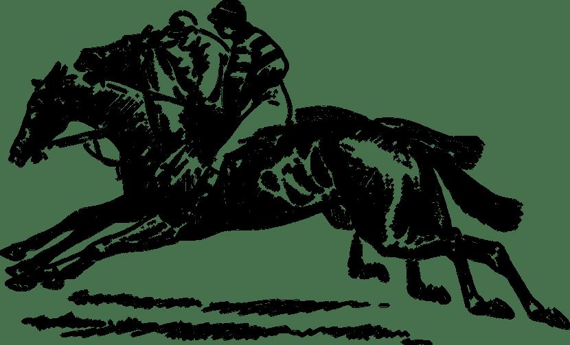 Carrera de caballos España