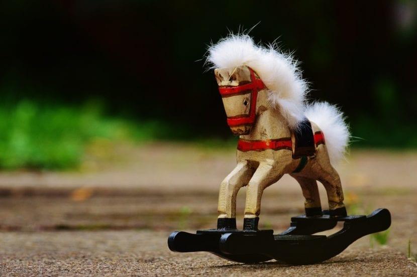 caballos de juguete